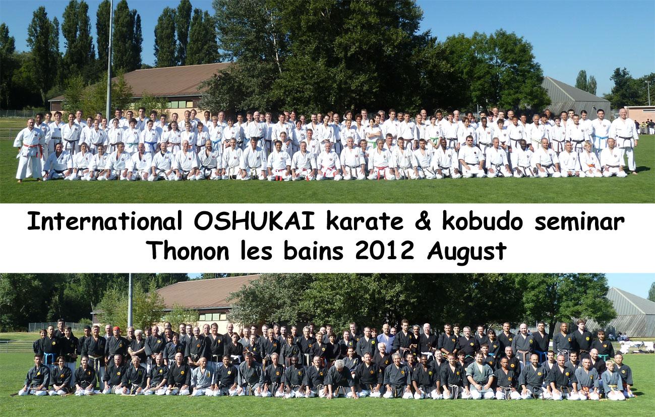 Stage Kobudo THONON Août 2012 2012-08-thonon-oshukai-p1